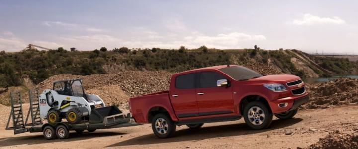 2013 Сhevrolet Сolorado. «Колорадо» еще и отличный тягач © Фото: General Motors